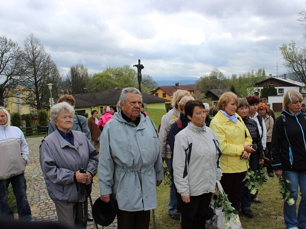 Oslavy osvobození ve Volarech.