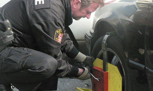 Instalování botičky na vozidlo