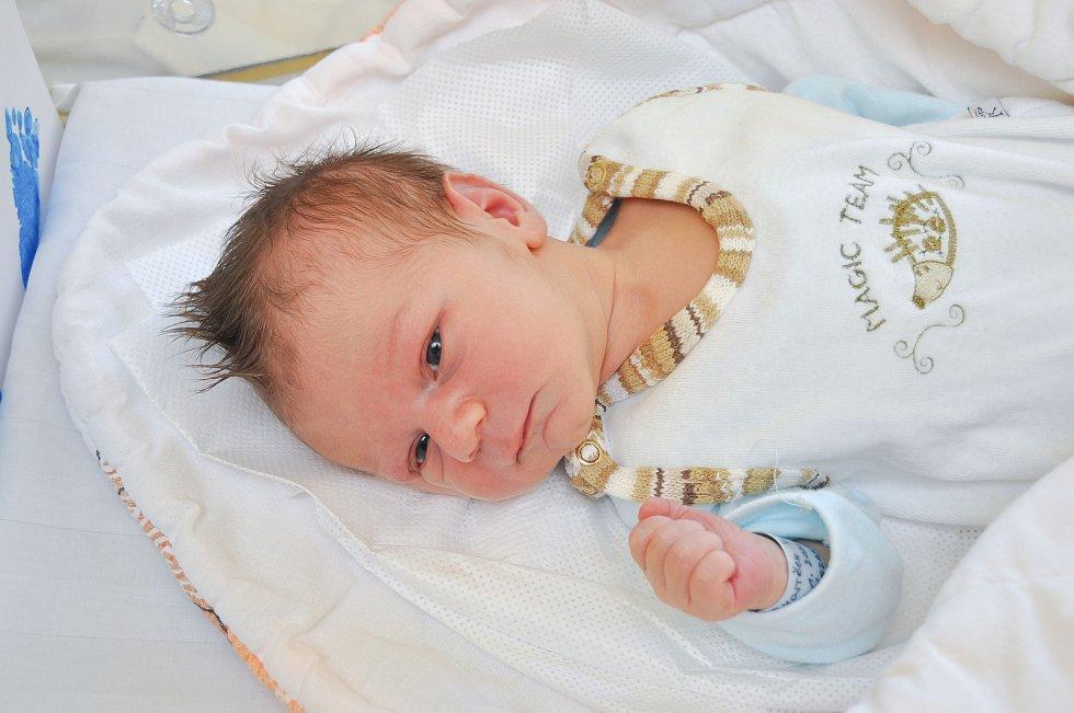 VOJTĚCH VOLDŘICH, VIMPERK. Narodil se ve středu 15. ledna v 11 hodin a 29 minut ve strakonické porodnici. Vážil 3570 gramů. Rodiče: Eva a Vojtěch. Foto: Ivana Řandová