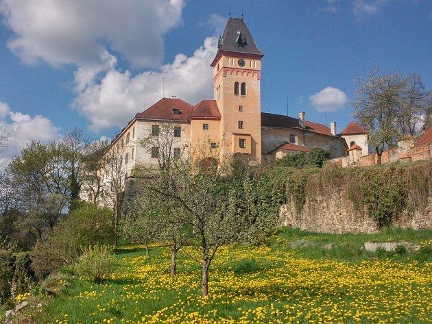 Národní kulturní památka zámek Vimperk