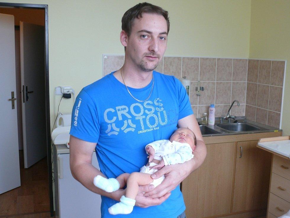 Maxim Zíka se narodil v prachatické porodnici v pátek 26. dubna v 18.05 hodin rodičům Tereze a Zdeňkovi. Vážil 3260 gramů a měřil 50 centimetrů. Malý Maxim bude vyrůstat v Prachaticích.