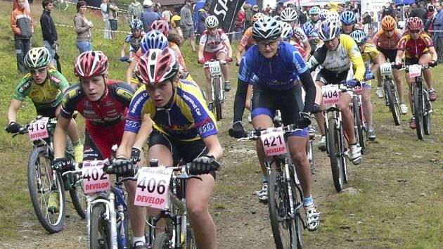V obci už nyní připravují další závody pro cyklisty. Ilustrační foto.