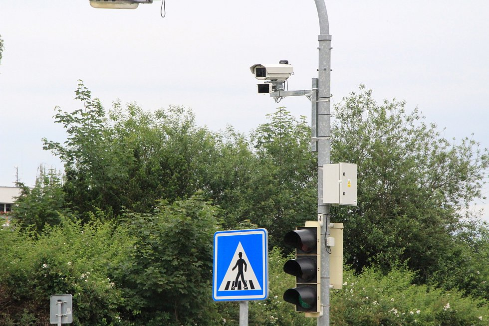 Nový radar na výpadovce na Volary.