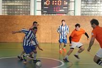 V prachatické sportovní hale pokračoval třetím turnajem Futsal cup.