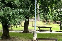 Revitalizaci Štěpánčin park v Prachaticích potřebuje jako sůl. Začít by se mělo v listopadu.