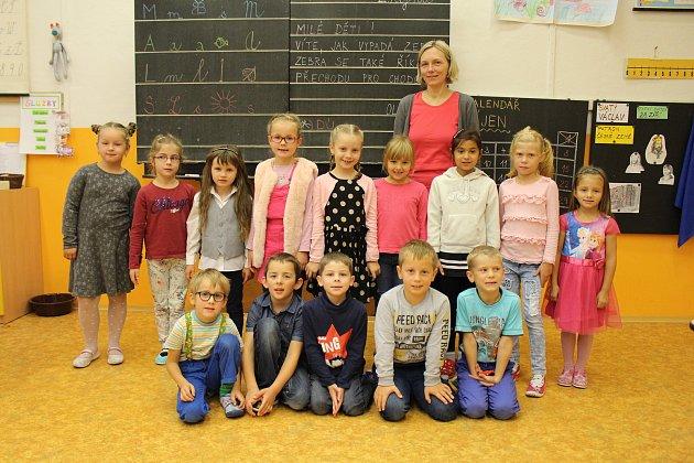 1. Atřída ze Základní školy TGM ve Vimperku.