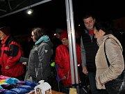 Bohatý program, včetně příjezdu paní Zimy v kočáře, čekal na návštěvníky na netolickém náměstí.