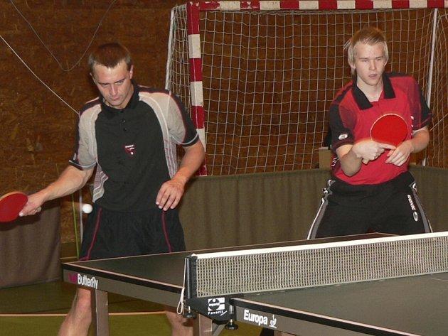 Miroslav Němec (vlevo) a Jakub Kašparů.