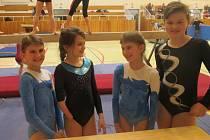 Vimperské gymnastky se představily v Táboře.