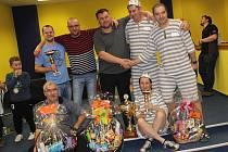 Osmý ročník bowlingového turnaje ve Volarech.