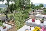 Prachatických hřbitov.