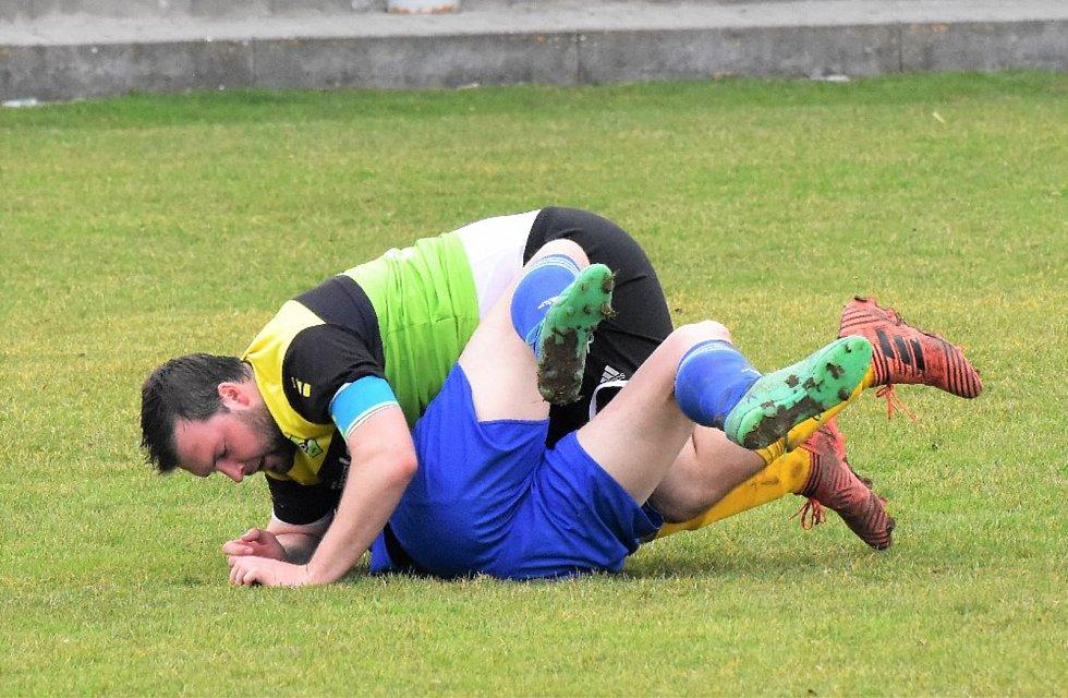 Fotbalová B třída: Osek B - Čkyně 1:4.