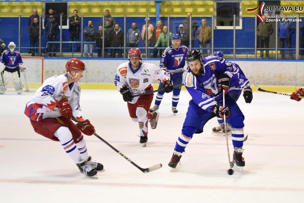 HC Vimperk - Telč 4:1 (2:0, 1:0, 1:1).