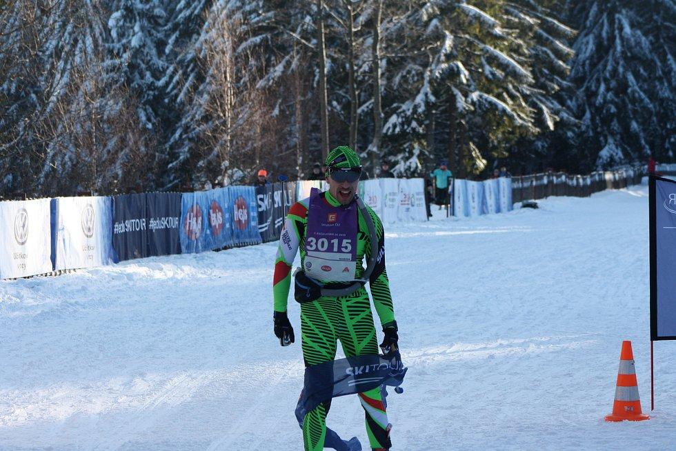 Vítězem Kašperské 30 volnou technikou se stal Pavel Janeček.