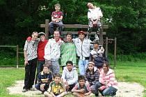 Děti v DD Žíchovec.