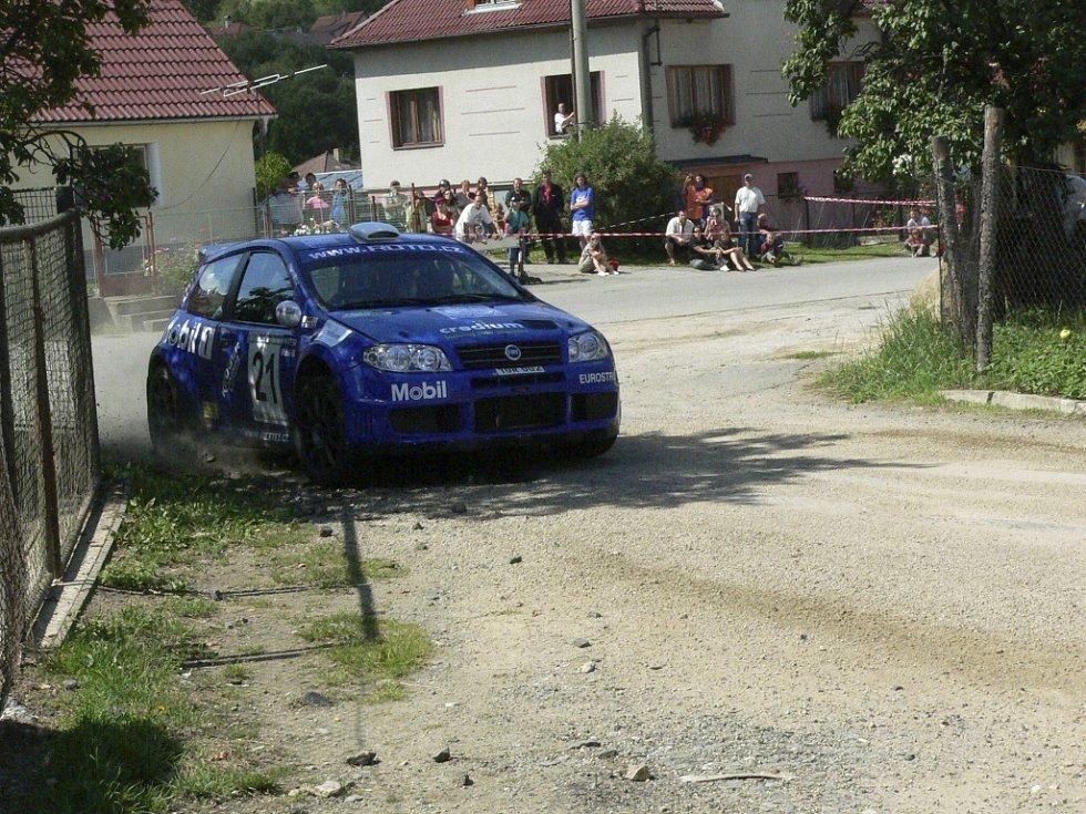 Jan Šlehofer na Fiatu Punto S 1600.