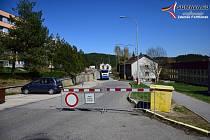 Práce v ulici Mírová ve Vimperku pokračují.