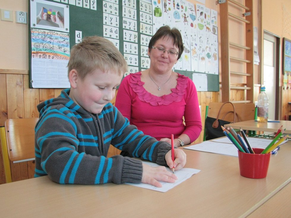 Zápisy budoucích prvňáčků už mají za sebou v Netolicích. Příští září se děti mohou těšit hned do dvou prvních tříd.