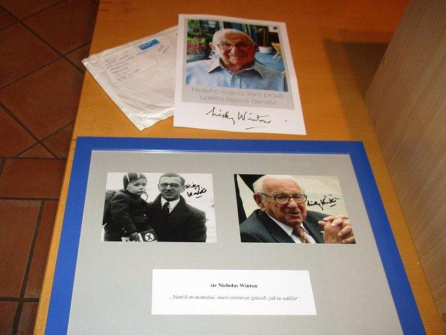 O osobním setkání a spolupráci sNicholasem Wintonem vyprávěl v Prachaticích dramaturg pan Zdeněk Tulis.