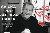 Svíčka pro Václava Havla