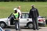 """""""oklady v pořádku, ale tu výzdobu ve vozidle byste měl odstranit,"""" konstatovala policejní hlídka."""