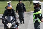Motorkář měl doklady v pořáku, na STK má ještě týden čas.