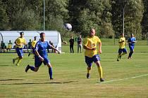 Fotbalová I.B třída: Husinec - Prachatice B 1:2.