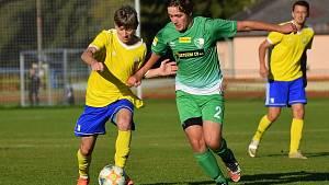 Fotbalová A třída: Vimperk - Roudné 1:0.