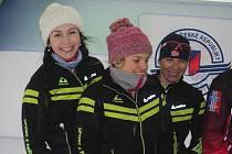 Vimperským lyžařům se na Božím Daru zadařilo.
