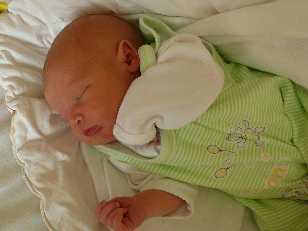 Dominik Bolech se v prachatické porodnici narodil v pondělí 15. června v 9.14 hodin. Vážil 3290 gramů. Rodiče Jana a David si syna odvezli domů, do Vadkova, kde netrpělivě čekala tříletá sestřička Adéla.