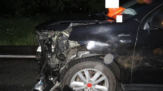 Střet osobního vozidla s prasetem skončilo vysokou škodou na vozidle. Divočák to má za sebou.