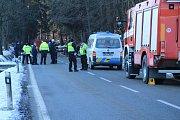 Tragická dopravní nehoda se stala těsně nad Prachaticemi.