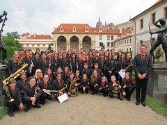 Dechový orchestr ZUŠ Vimperk reprezentoval Jihočeský kraj na ZUŠ OPEN vPraze.