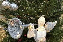 Rozsvícení vánočního stromu v prachatickém KreBulu.