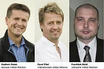 Starosta Vladimír Pešek, místostarosta Pavel Pilař a zastupitel Netolic František Sklář, každý z nich má svou představu o budoucnosti Kulturního domu v Netolicích.
