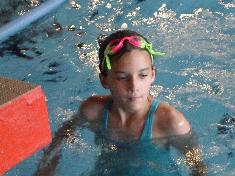 Mladí prachatičtí plavci se představili na oddílových závodech.Foto: Archiv klubu