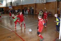 Fotbalové starší přípravky se utkaly ve Zdíkově.