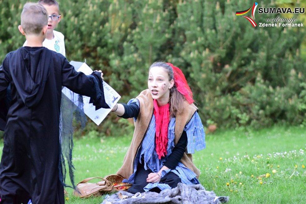 Čarodějnický rej ve Vimperku.