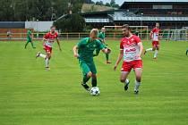 Fotbalová I.A třída: Prachatice - Semice 1:1.