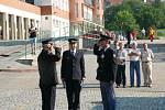 Krajská soutěž profesionálních hasičů se letos konala v Prachaticích.