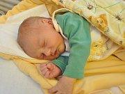Z prvorozeného syna má radost rodina Šturmova z Vacova. Chlapeček se narodil v pátek 19. ledna třicet devět minut po osmé hodině večer a dostal jméno František Šturma. Sestřičky mu navážily 3580 gramů.