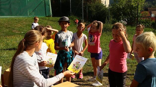 Školáci se připojili k Běhu pro zdraví.