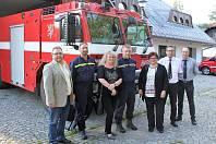 Při společném setkání naplánovali hasiči, jak zajistí běh po Šumavě.