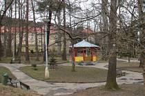 Štěpánčin park v Prachaticích