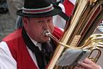 Hudba provází  celé Slavnosti Zlaté stezky.