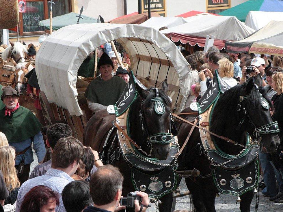 Soumaři se vrátili na Velkém náměstí i v sobotu dopoledne.