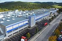 Firma Rohde & Schwarz ve Vimperku. Ilustrační foto