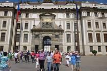 Prachatičtí senioři navštívili Pražský Hrad.