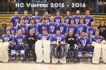 HC Vimperk v sezoně 2015 - 16.