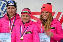 Lyžaři klasici Fischer Ski klubu Šumava Vimperk přivezli z MČR dorostu další čtyři tituly.
